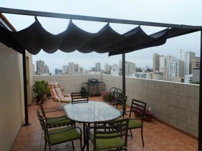 VRBO.com #207426 - Miraflores Penthouse-Rooftop Private Terrace-2 Levels- Ocean View-4 Bedroom,