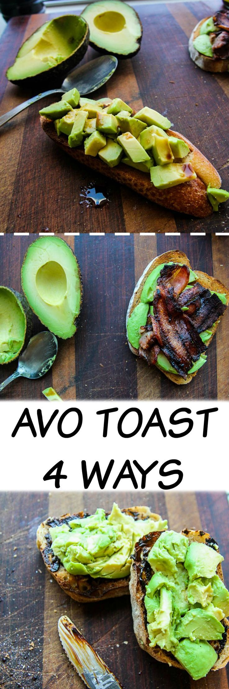 Avocado Toast | 4 Ways Seriously the best 4 ways to eat avocado toast and I bet there is one you have never heard of. Click to find out more