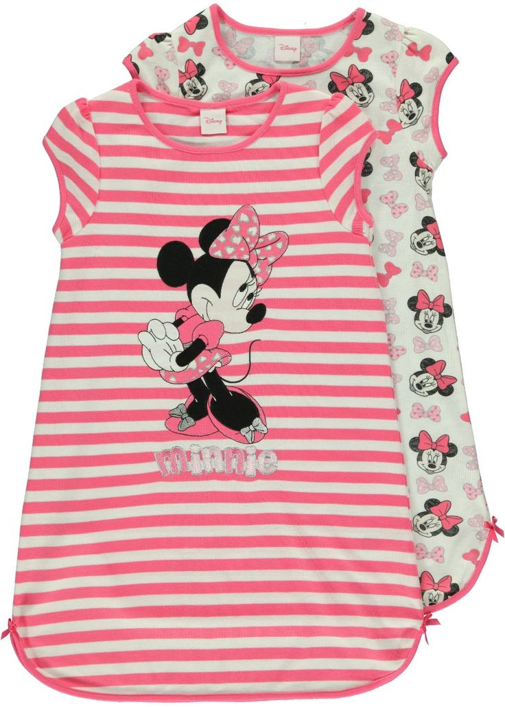 girls-minnie-mouse-2-pack-nightie