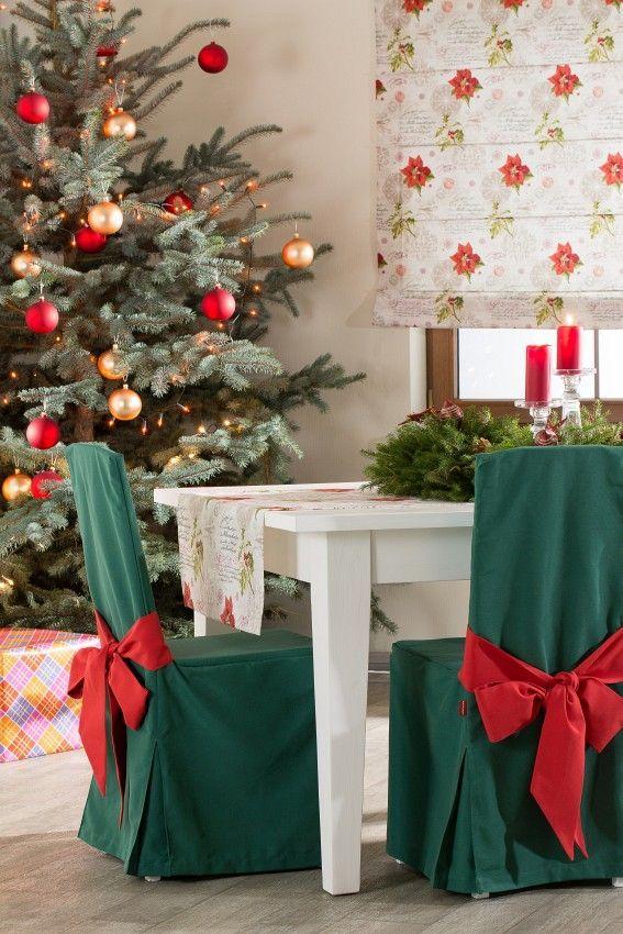 Kolekcja tkanin Christmas - Dekoria #christmas #inspiration #decoration #livingroom #jadalnia #wnetrza #dom #home #christmastime #ideas #interior