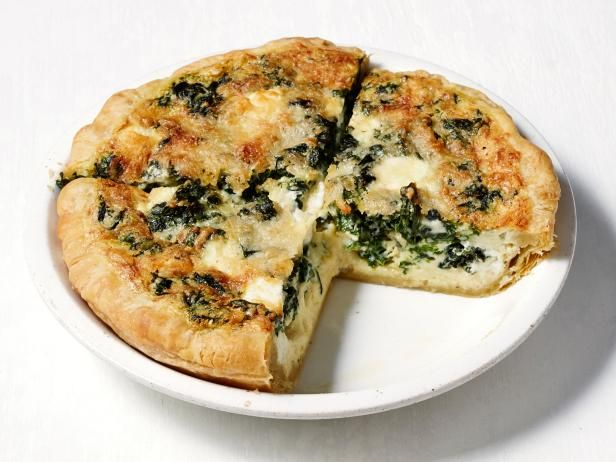 Get Food Network Kitchen's Goat Cheese Quiche Recipe from Food Network