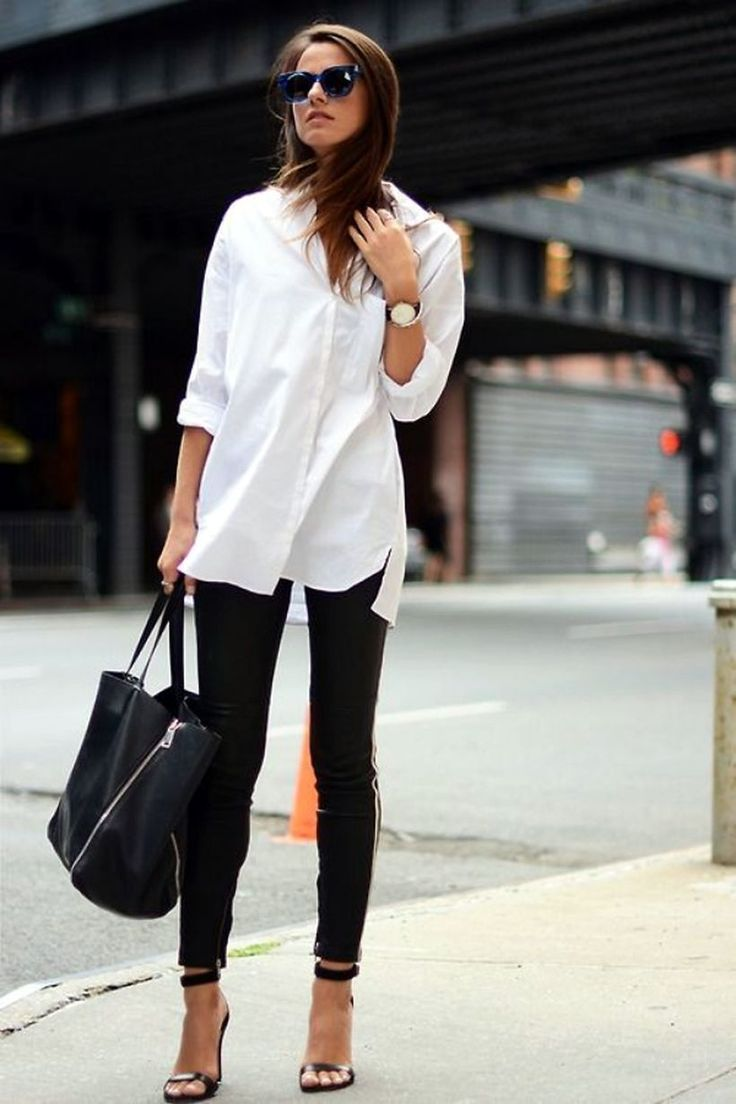 40 Amazing Oversized White Shirt Outfits Style Ideas https://fasbest.com/40-amazing-oversized-white-shirt-outfits-style-ideas/
