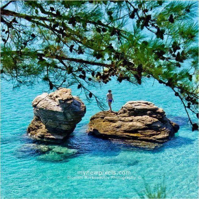 Scala Panagias @ Thassos Island! #iLoveKavala #Travel #Thassos #Greece