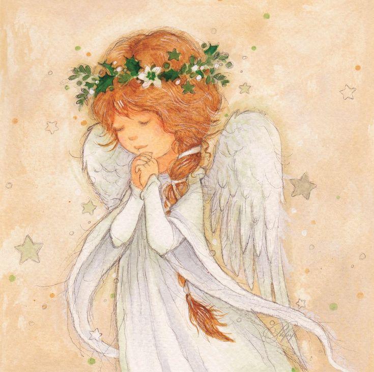 него картинки добрые ангелы иллюстрации каждого
