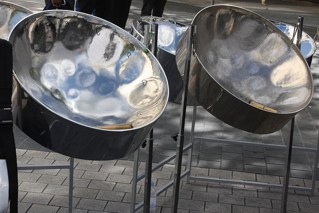 Trinidad's national instrument Steelpans (also known as steel drums or pans, and sometimes, collectively with other musicians, as a steel band or orchestra) is a musical instrument originating from The Republic of Trinidad and Tobago. Steel pan musicians are called pannists.