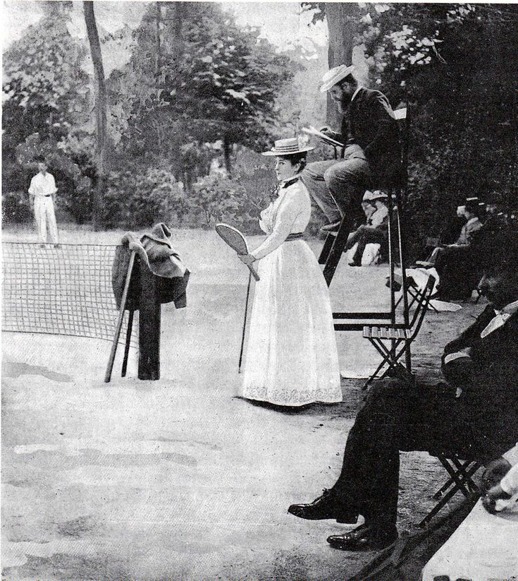 French contestant at the 1900 Olympic Games
