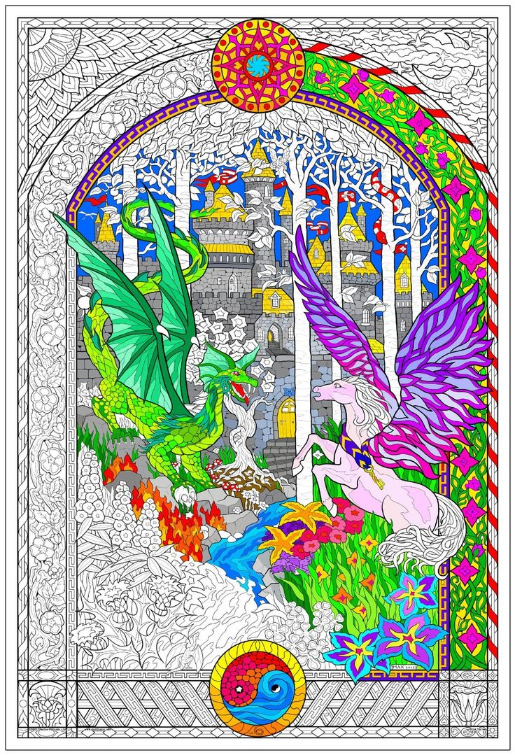15 best images about coloring pages for adults on Jumbo coloring books for adults
