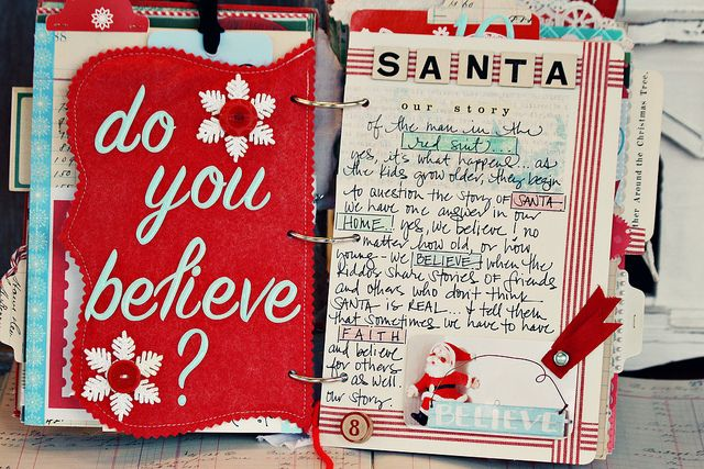 December journal...this is so cute!