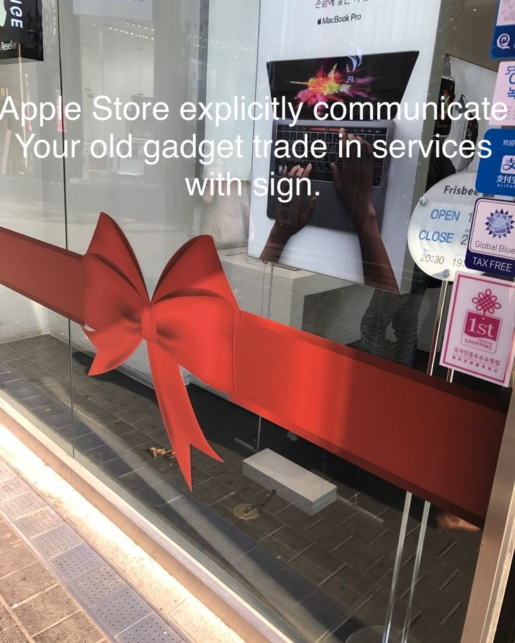 Apple Store wants u trade in ur old gadgets for new ones  see: www.bentsai.com #apps #russia #l #tech #japan #usa #china #SouthKorea #india #brazil #africa