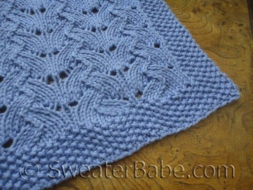 Similiar Lacy Baby Blanket Knitting Pattern Keywords
