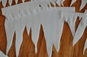 Frozen Birthday Party Decorations: Styrofoam Icicles Elsa's Castle ...