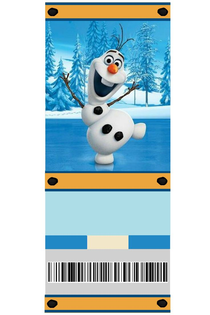 free printable frozen invitation olaf photo by sarahjmorriss