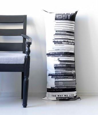 Book pillow.