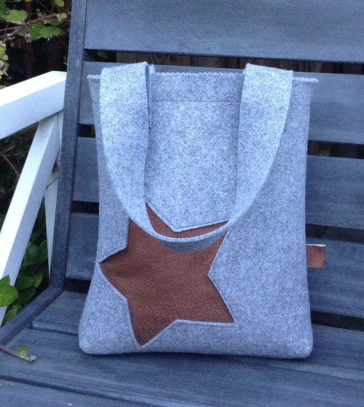 Handgemaakte Vilten Tas : Vilten tas met skai eigen creaties handmade