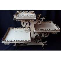 Base Para Cupcakes Muffins Panques Centro De Mesa Mdf Gmbs05