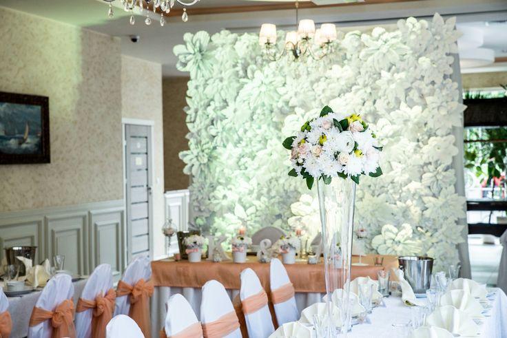 Flowers decorations wedding wesele ślub chanel kwiaty