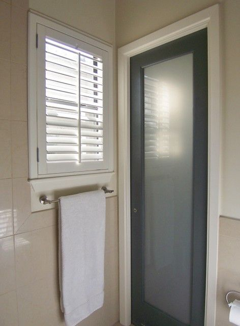 Frosted glass pocket doors for your house door window inspiration pinterest glass pocket Glass bathroom doors interior