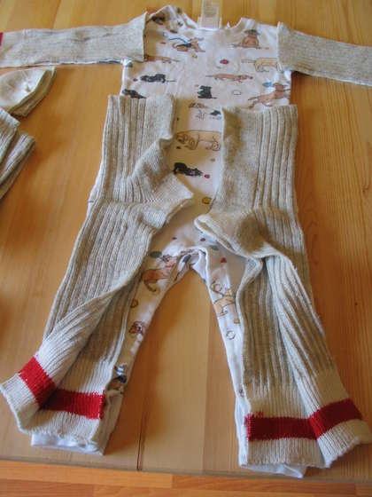sock monkey costume from socks
