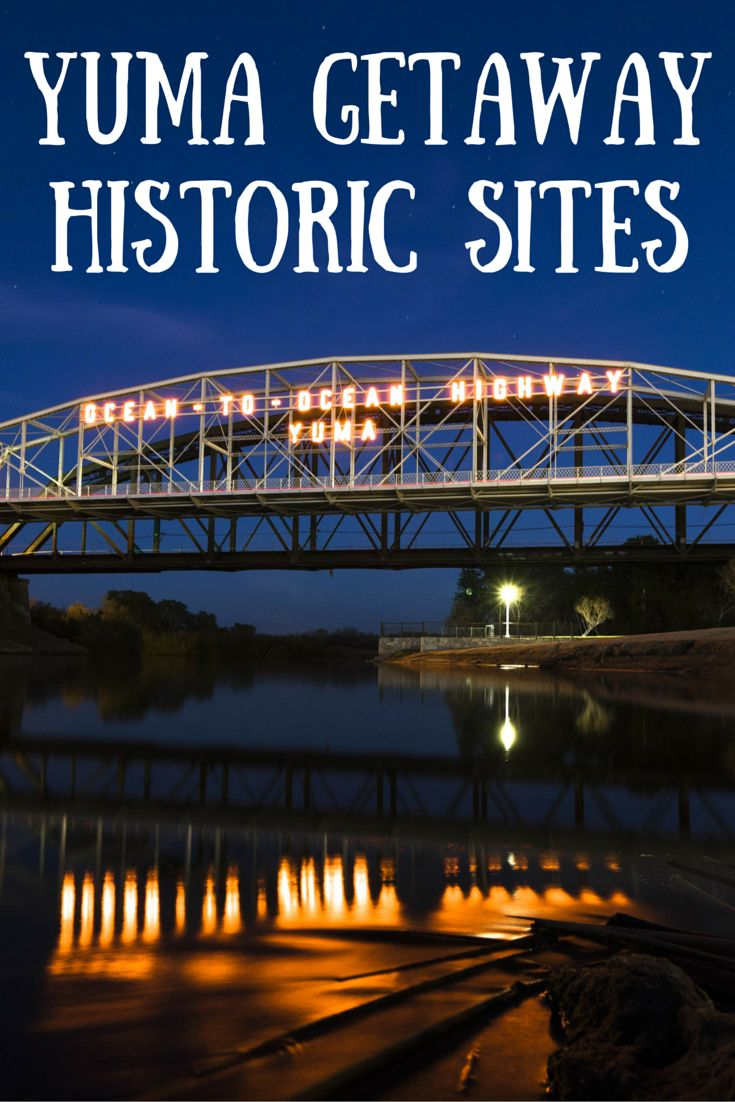 Travel the World: Some of Yuma Arizona's well preserved historic sites. #Yuma #Arizona #travel