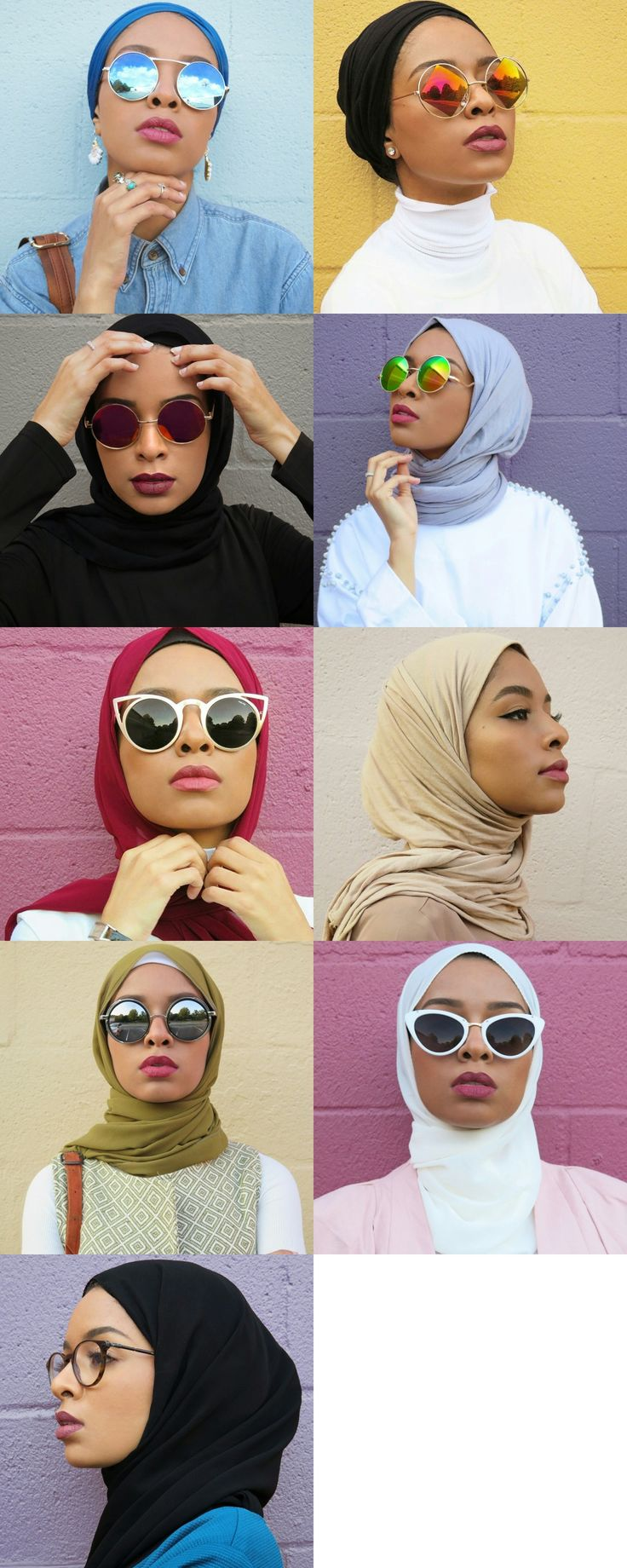 One of the most instagramed and tumblr hijabi in 2015 IG: @FEEEEYA