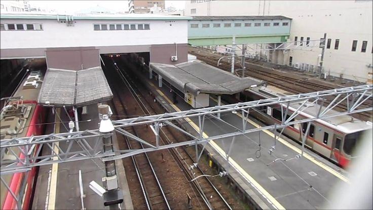 名鉄電車神宮前駅北側の開かずの踏切りその後_railway crossing in Japan_Japanese traffic