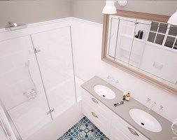 Mieszkanie w klimatycznej kamienicy - Łazienka, styl klasyczny - zdjęcie od Progetti Architektura