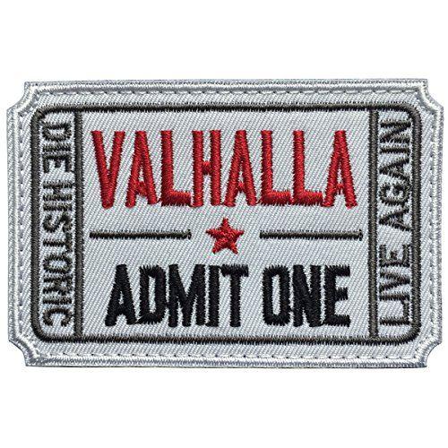 SpaceAuto Ticket to Valhalla Admit One Die Historic Live ...