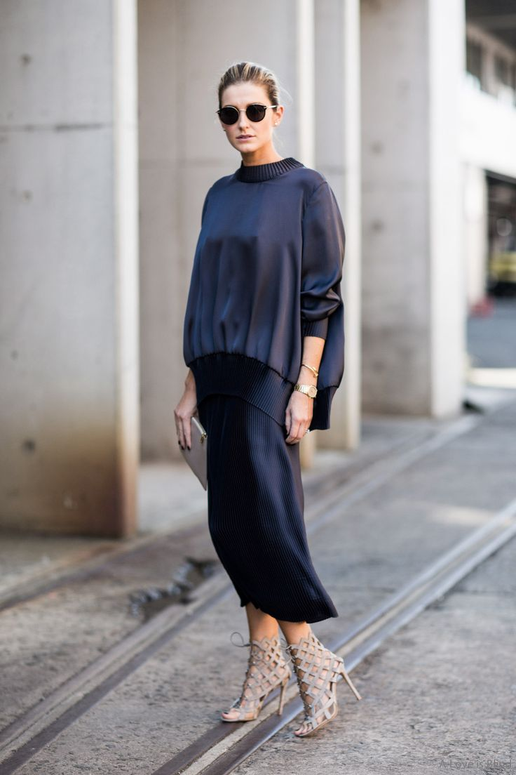 Sydney minimalism | A Love is Blind - Sydney Fashionweek 2015, Kate Waterhouse