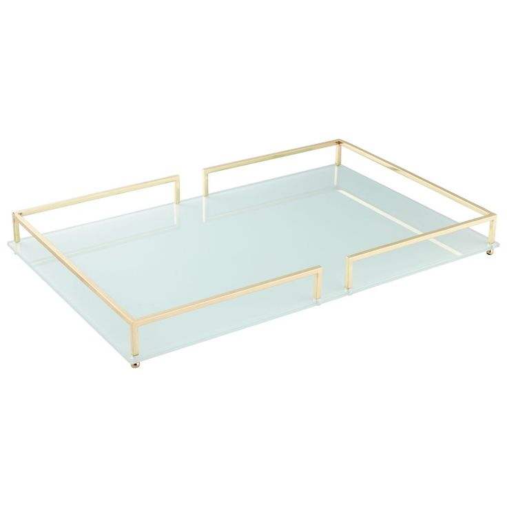 Small Contempo Noir Tray By Cyan Design