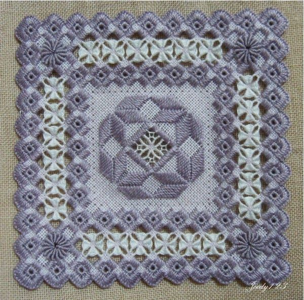 hardanger designers | Jill's Stitching Pages - Hardanger designs (Geen patroon)