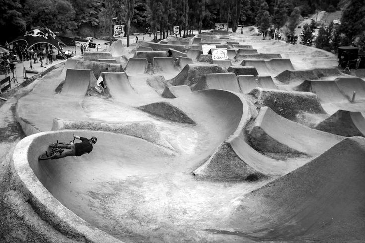 If you build it, they will come. #redbull #bmx