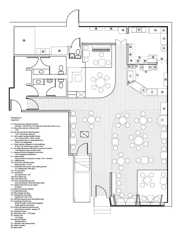 cafe mud floor plan_ equipm. and two stages open window.0.jpg 607×818 pixels