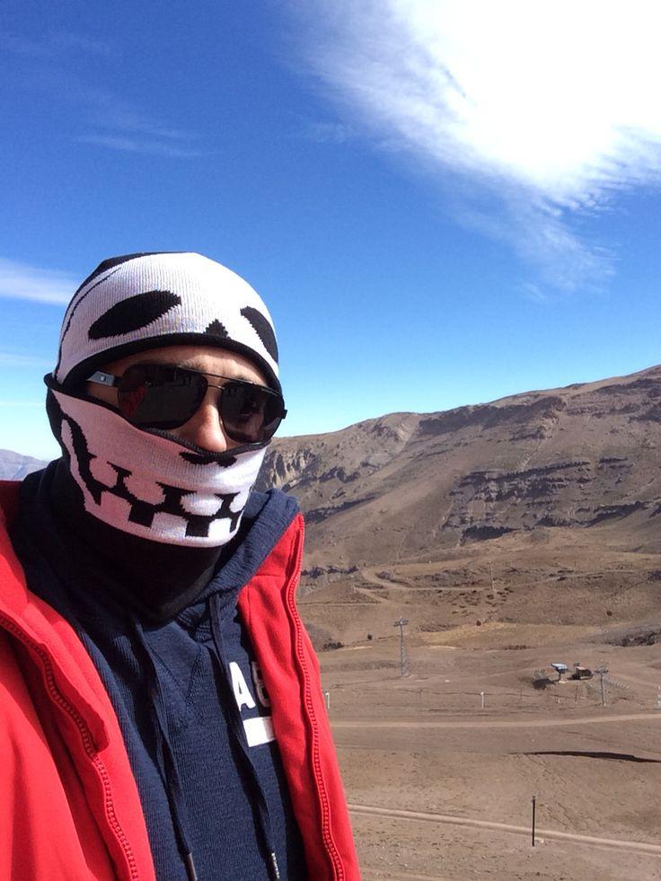 Valle Nevado. Sem neve