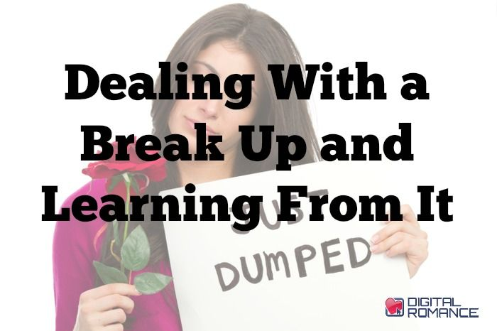 dealing with the break up of a relationship