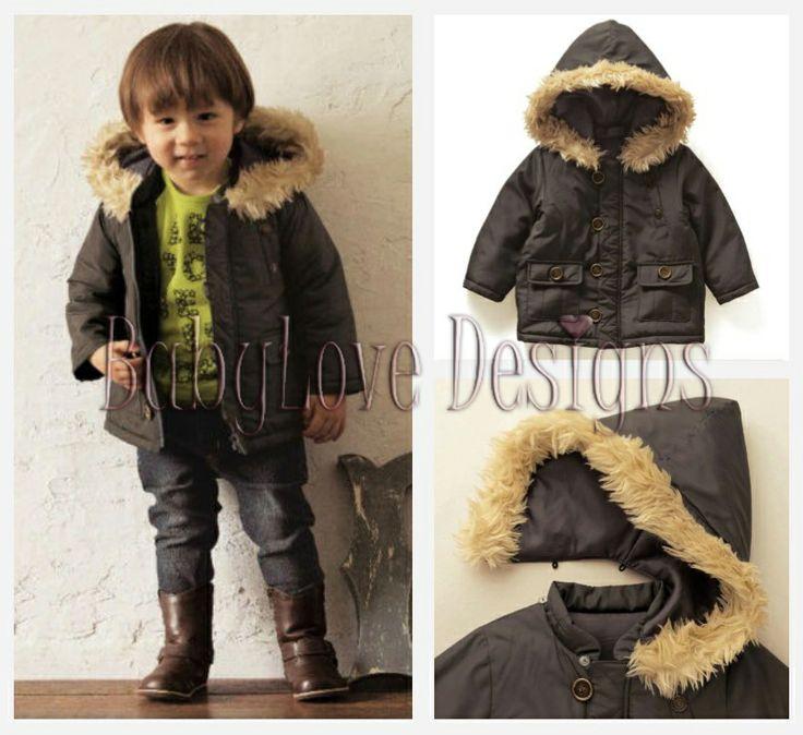 Boy's Fur Hood Jacket $29 + P&H
