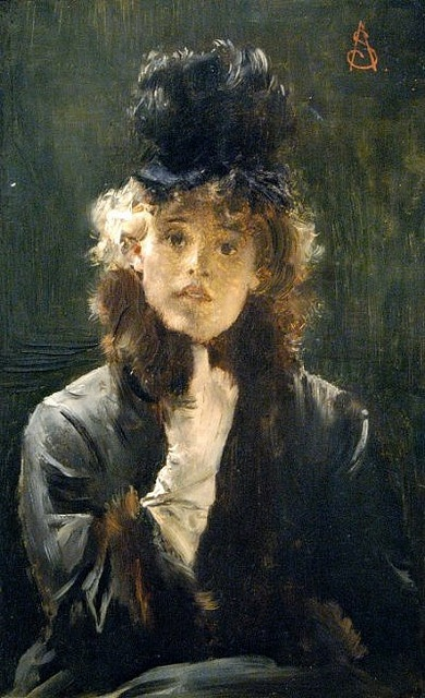 Alfred Stevens. 19th Century. France. Belle Epoque