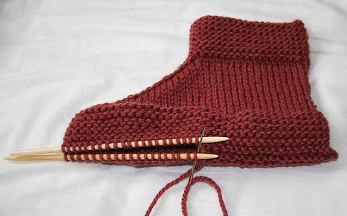 Ravelry: SuperCraftyLystic's two needle slippers