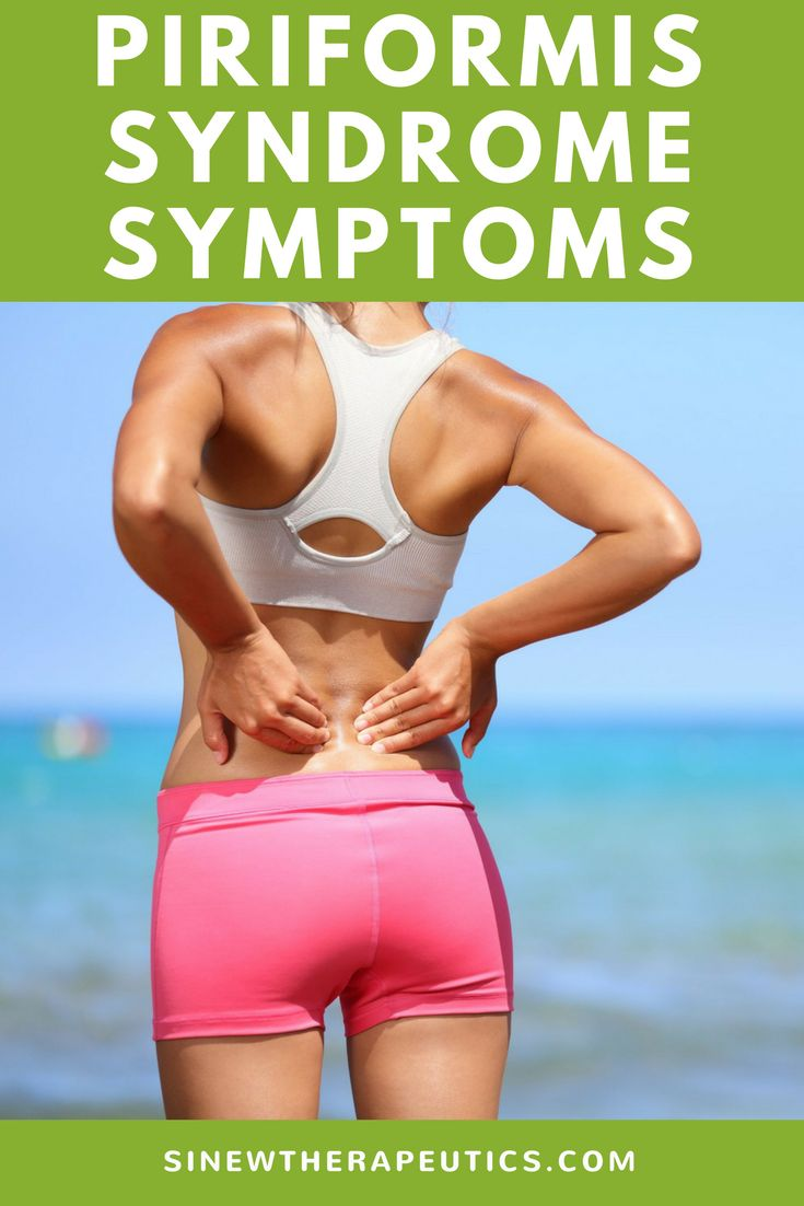 The pain associated with piriformis syndrome is most often described as a numbness or tingling sensation in the buttocks. Learn more about piriformis syndrome symptoms, causes and treatment.