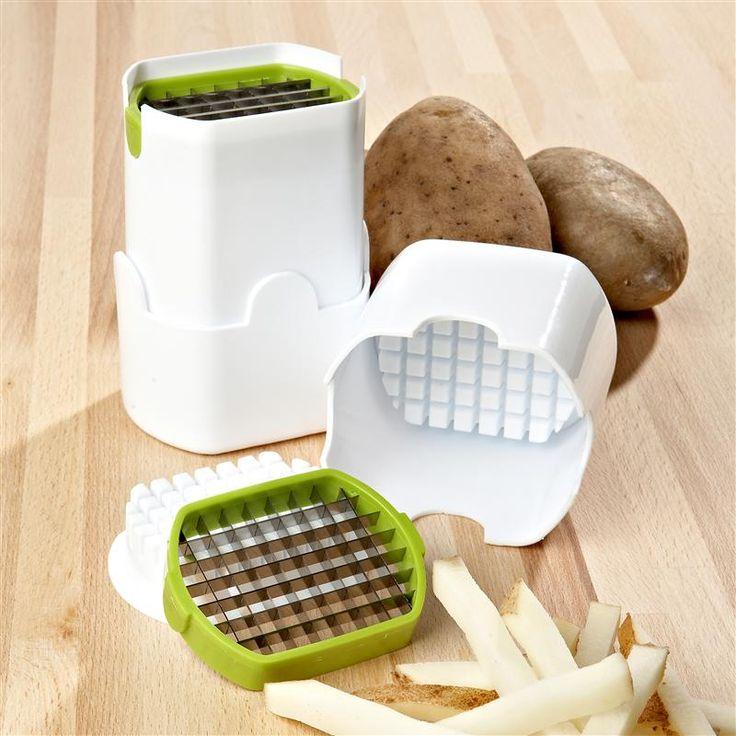Ksp Fritz Box Potato Chipper 10 Cm X 9 Cm X 14 Cm White/Green | Kitchen Stuff Plus