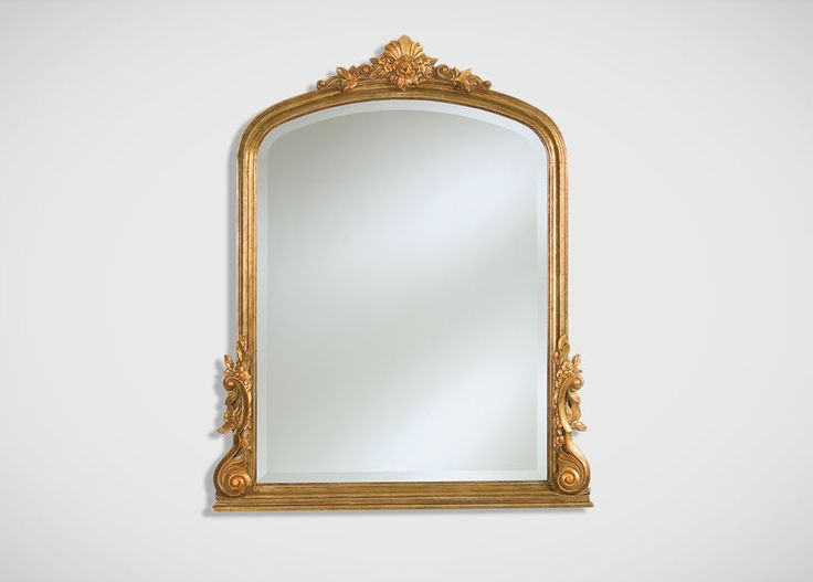 "Ethan Allen French Mantel Mirror $360  36"" x 44"""