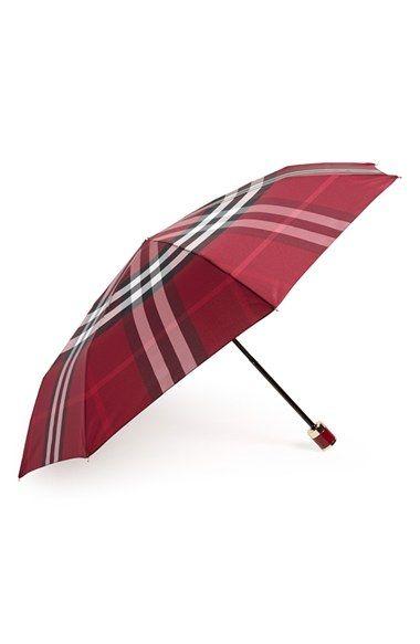 Burberry 'Trafalgar' Folding Umbrella