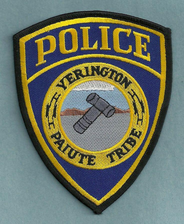 Yerington+Paiute+Nevada+Tribal+Police+Patch States