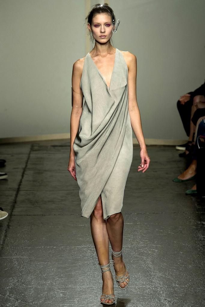 modelcouture: donna karan spring 2013