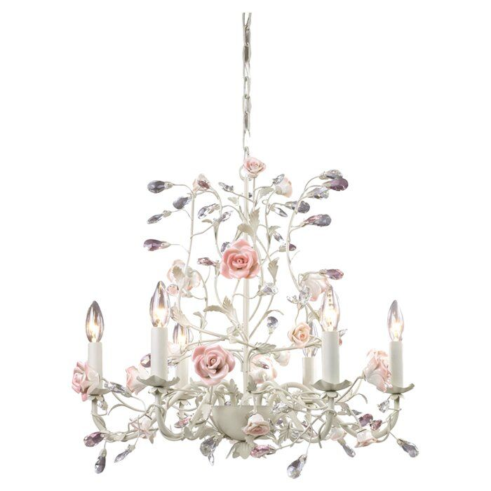 Twila 6 Light Candle Style Classic Traditional Chandelier Chandelier Lighting Shabby Chic Chandelier Cream Chandeliers