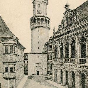 Sopron - Városház és torony