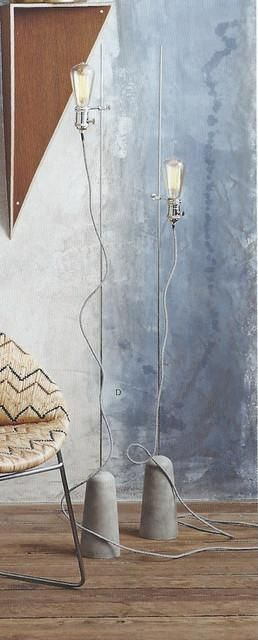 $143.00 Roost Sprocket Floor Lamp #ConcreteLamp