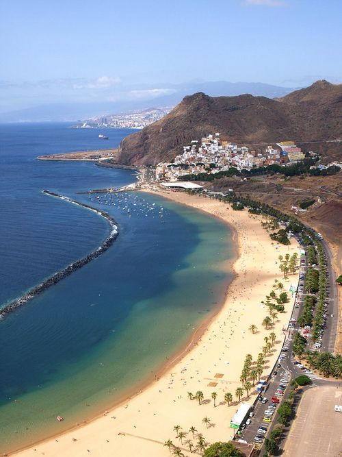Las Teresitas Beach in Tenerife | Spain (by Jack Montgomery)