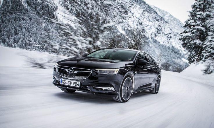 Nowy Opel Insignia Grand Sport z zimowymi dodatkami