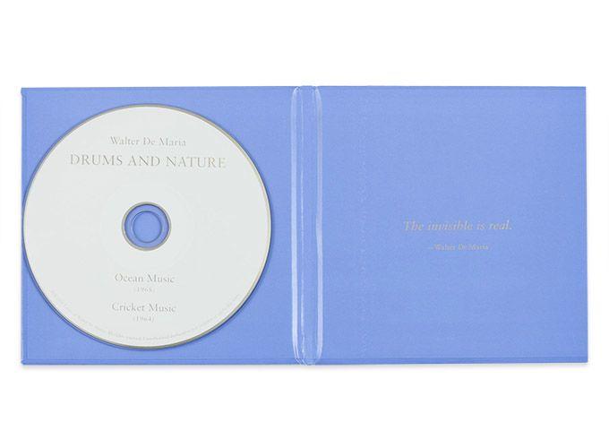 Walter De Maria: Drums and Nature CD. $20 @ Gagosian Shop