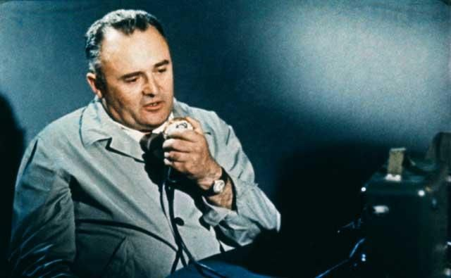 "Sergei Korolev, the ""Chief Designer"". He kept the USSR ahead of the USA in the space race until his death in 1966."